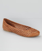 Levi's Braided Leather Ballet Flats
