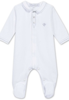 Tartine et Chocolat White Cotton Sleepsuit