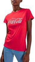 Topshop Women's 'Coca Cola' Graphic Tee