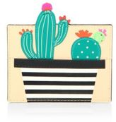 Kate Spade Scenic Route Cactus Leather Card Holder