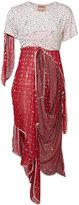 Vivienne Westwood Ios layered dress - unisex - Silk/Metallized Polyester - II