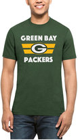'47 Men's Green Bay Packers Two Bar Splitter T-Shirt