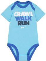 "Nike Baby Boy Crawl, Walk, Run"" Graphic Bodysuit"