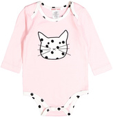 Baby Nay Pink Cat Bodysuit - Infant