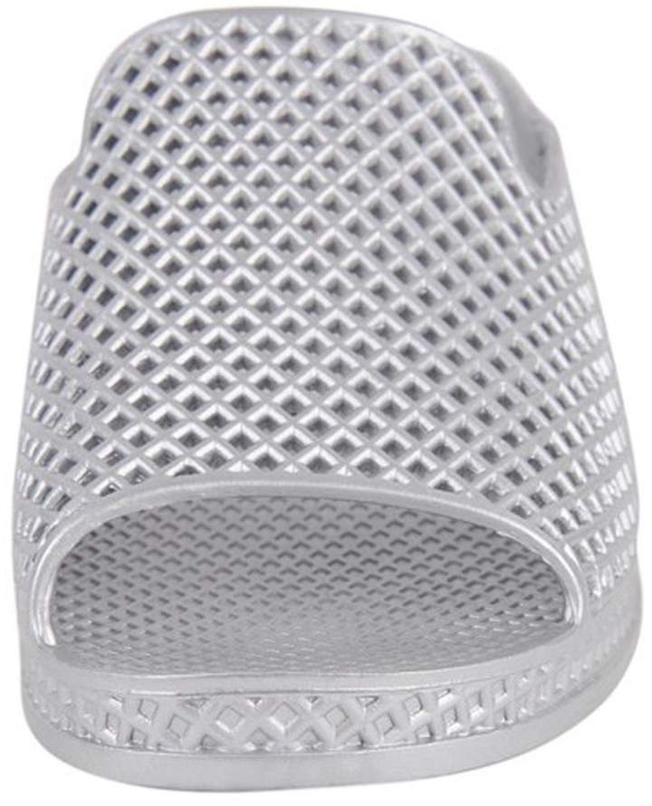 Jeffrey Campbell Silver Slip On Wedge