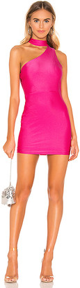 superdown Regina Asymmetric Mini Dress