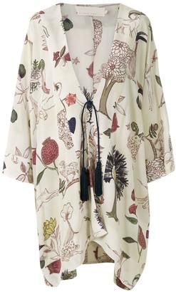 Le Soleil D'ete Nice printed kimono
