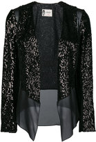 Lanvin sequin open jacket - women - Silk/Polyester - 44