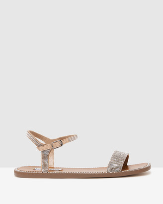 Steve Madden Women's Multi Flat Sandals - Nickel R Multi - Size One Size, 7 at The Iconic