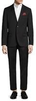 Ben Sherman Solid Notch Lapel Suit