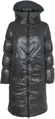 Colmar Green Long Down Jacket