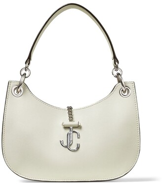 Jimmy Choo Small Leather Varenne Hobo Shoulder Bag