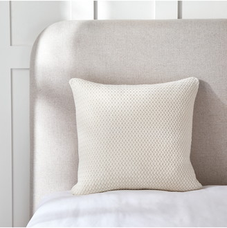 The White Company Manon Lambswool Blend Knit Cushion Cover
