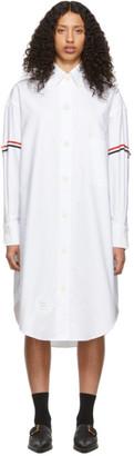 Thom Browne White Armband 200% Shirt Dress