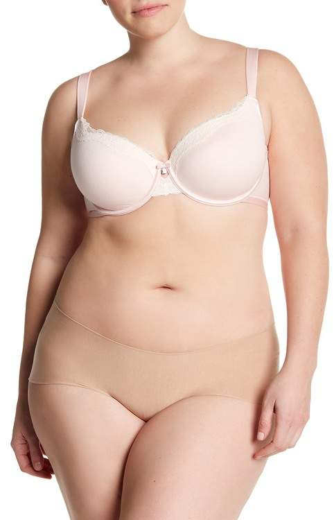 Couture Curvy Cotton Luxe T-Shirt Bra (C-H Cups)