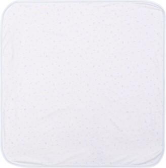 Harrods Logo Print Blanket