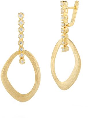 I. Reiss 14K 0.33 Ct. Tw. Diamond Earrings