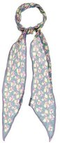 Marc Jacobs Floral Chiffon Scarf