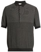 Lemaire Cotton-blend polo shirt
