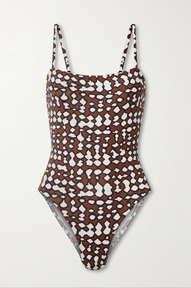 Eres Aquarelle Printed Swimsuit