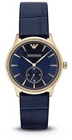 Emporio Armani Men's AR1848 Classic Analog Display Analog Quartz Blue Watch
