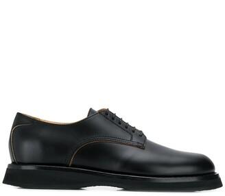 Jil Sander thick-sole Derby shoes
