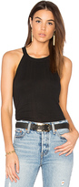 Nation Ltd. Mattie Halter Top in Black