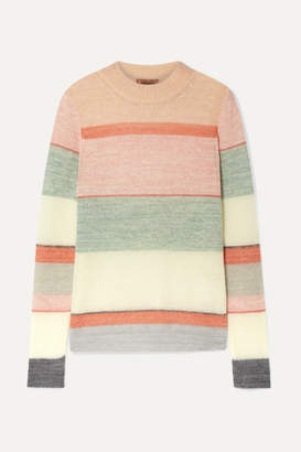 Missoni Striped Knitted Sweater - Pink