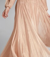 Thumbnail for your product : Maria Lucia Hohan Pleated Dania Gown