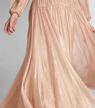 Maria Lucia Hohan Pleated Dania Gown