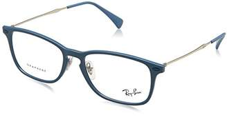 Ray-Ban Unisex Adults' 0RX 8953 5756 Optical Frames, (Light Blue Graphene)