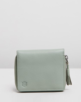 Stitch & Hide - Women's Green Bifold - Mia Wallet - Size One Size at The Iconic