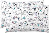 Holiday Hounds Flannel Sheet Set, Extra Pillowcases, Multi