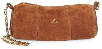 Atelier Manu Mini Suede Cylinder Shoulder Bag