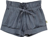 Nui Sale - Lauren Chambray Organic Cotton Shorts