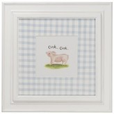 The Well Appointed House Farm Theme Framed Wall Art: Pig