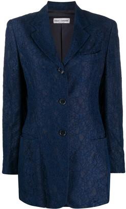 Dolce & Gabbana Pre-Owned Lace Blazer