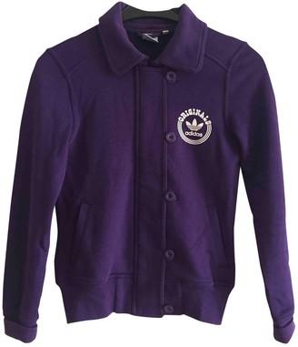 adidas Purple Cotton Jackets