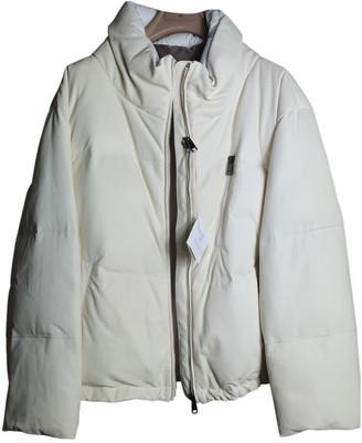 Brunello Cucinelli Ecru Leather Coats