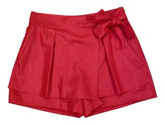 Diane von Furstenberg Pink Polyester Shorts