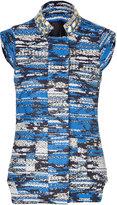 Matthew Williamson Blue-Multi Embroidered Vest