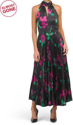 Pleated Adrianna Dress