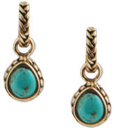 Barse Women's Bronze/Turquoise Earring BASIE33T01B