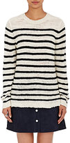 The Elder Statesman Women's Picasso Sweater-WHITE