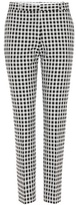 Each X Other Checked Cotton-blend Trousers
