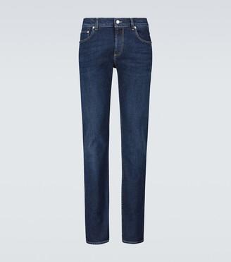 Alexander McQueen Denim skinny jeans