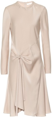 Chloé Satin-crepe dress