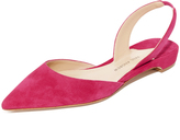 Paul Andrew Rhea Point Toe Flats