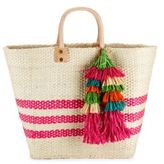 Mar y Sol Trio Fringe Open-Top Tote
