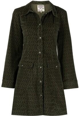 Baum und Pferdgarten Button-Down Coat